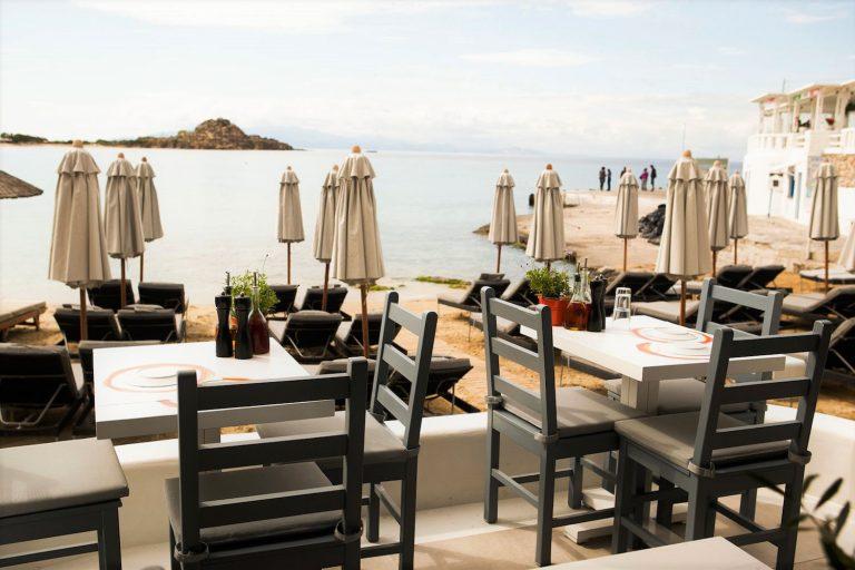 Avli Tou Thodori Beach Restaurant in Mykonos