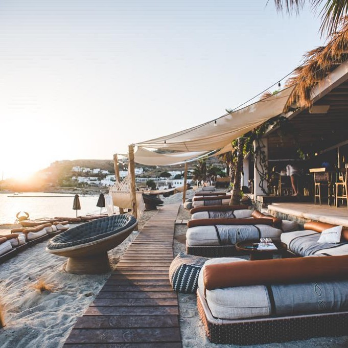 best restaurants in Mykonos - Hippie Fish