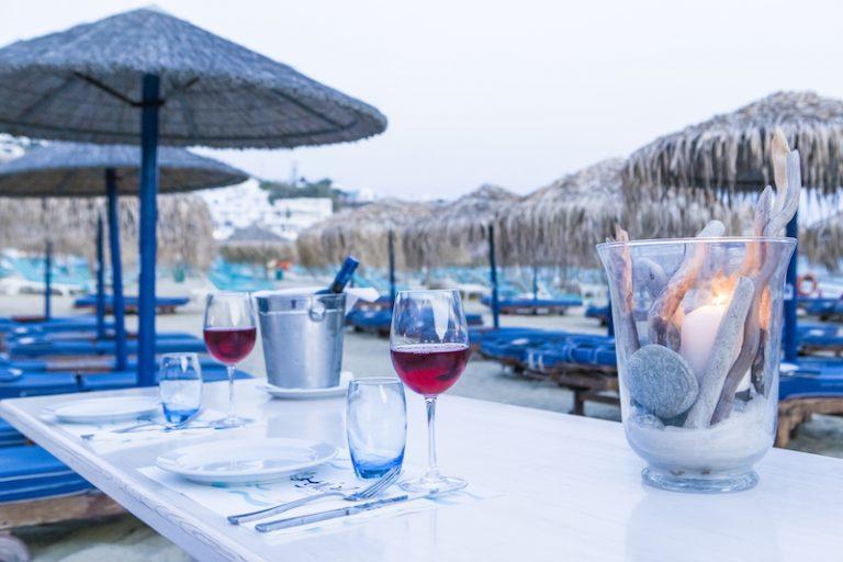 Yialo Yialo Restaurant in Mykonos