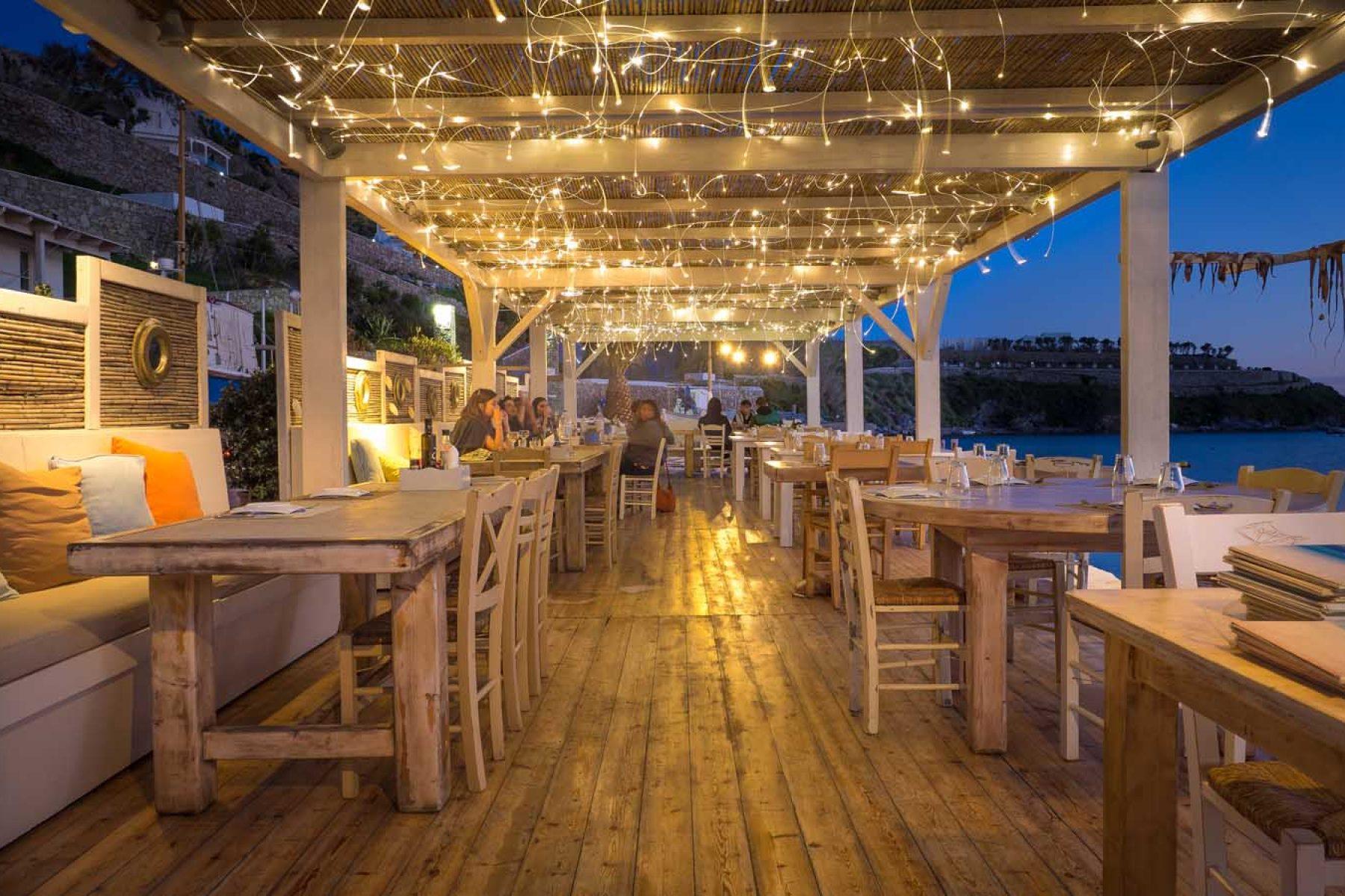 Appagio Restaurant in Mykonos
