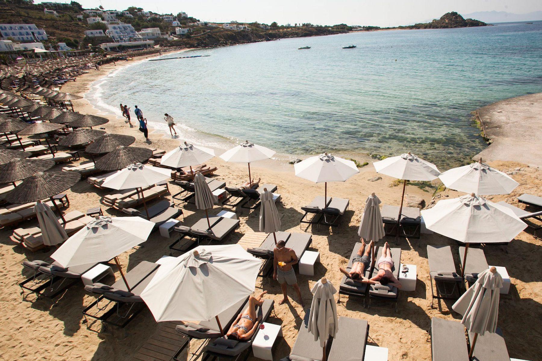 Avli Tou Thodori Beach in Mykonos