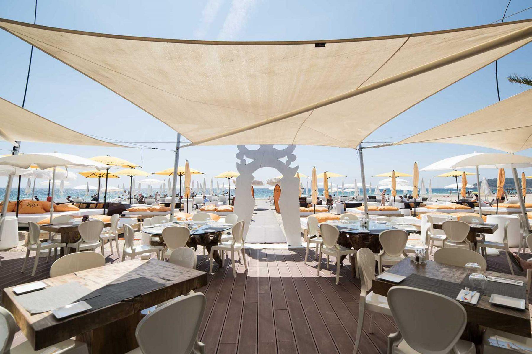 beach club BEACH BY USHUAIA in Ibiza