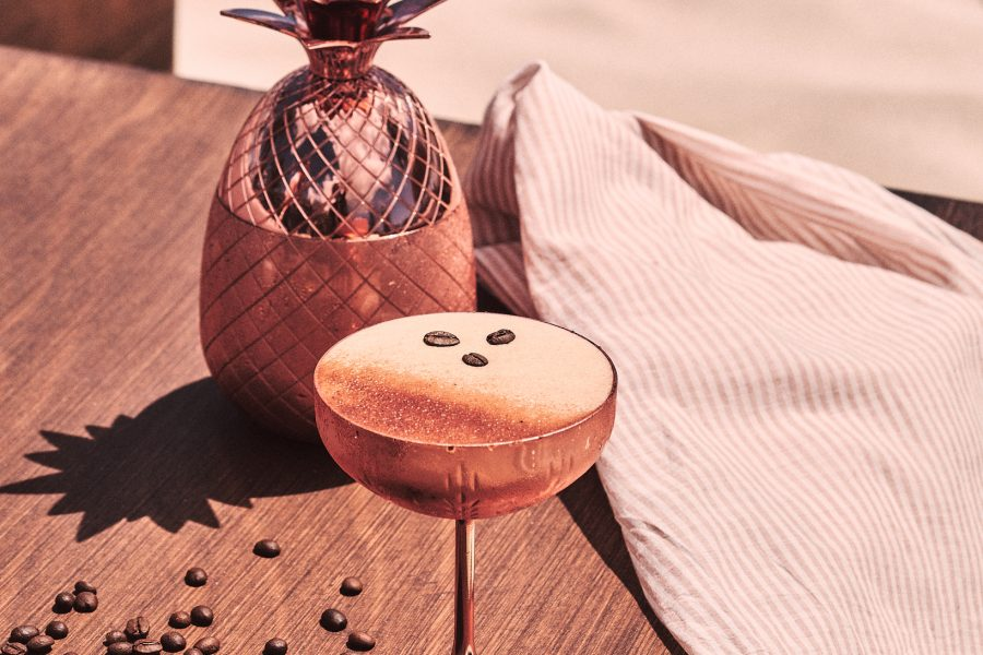 Espresso martini at Beachouse Ibiza