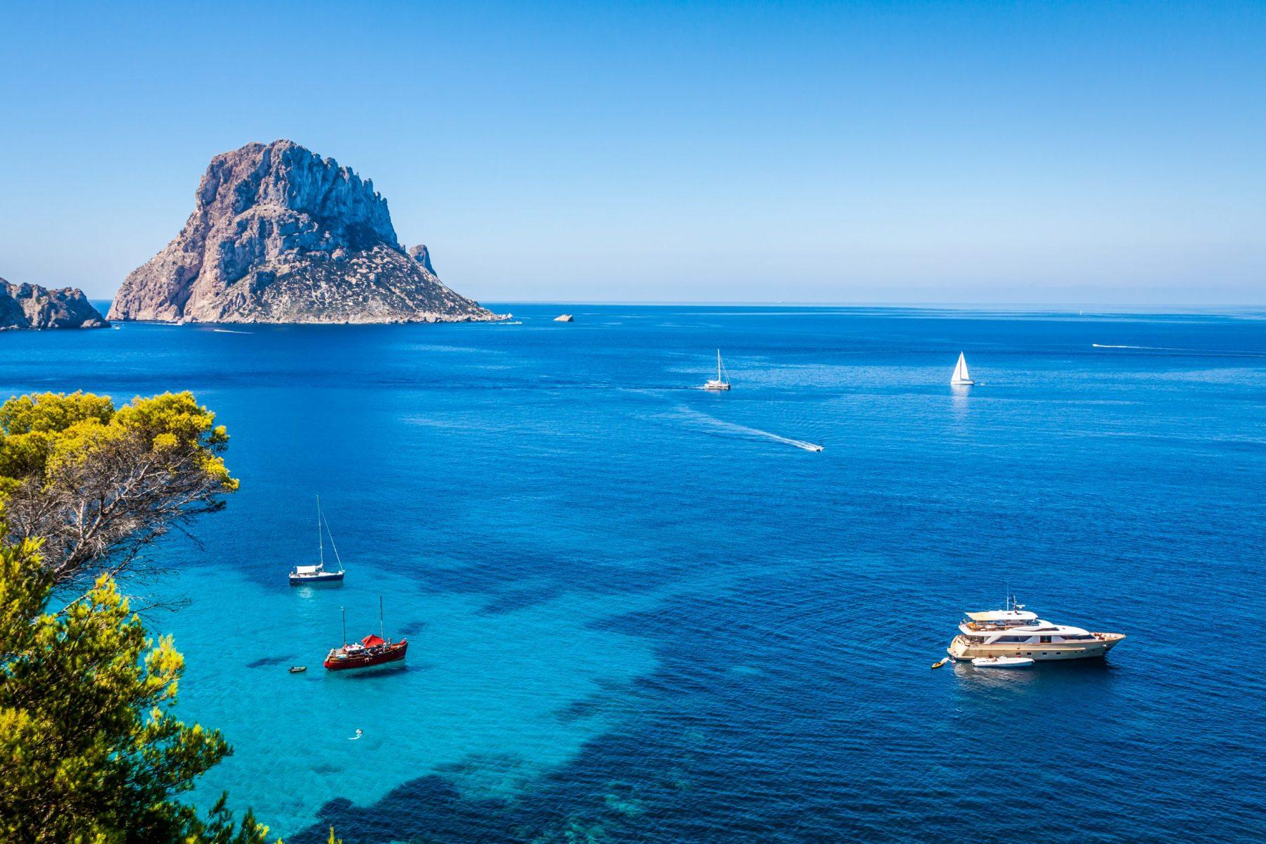 Secret Beaches in Ibiza Cala D-Hort