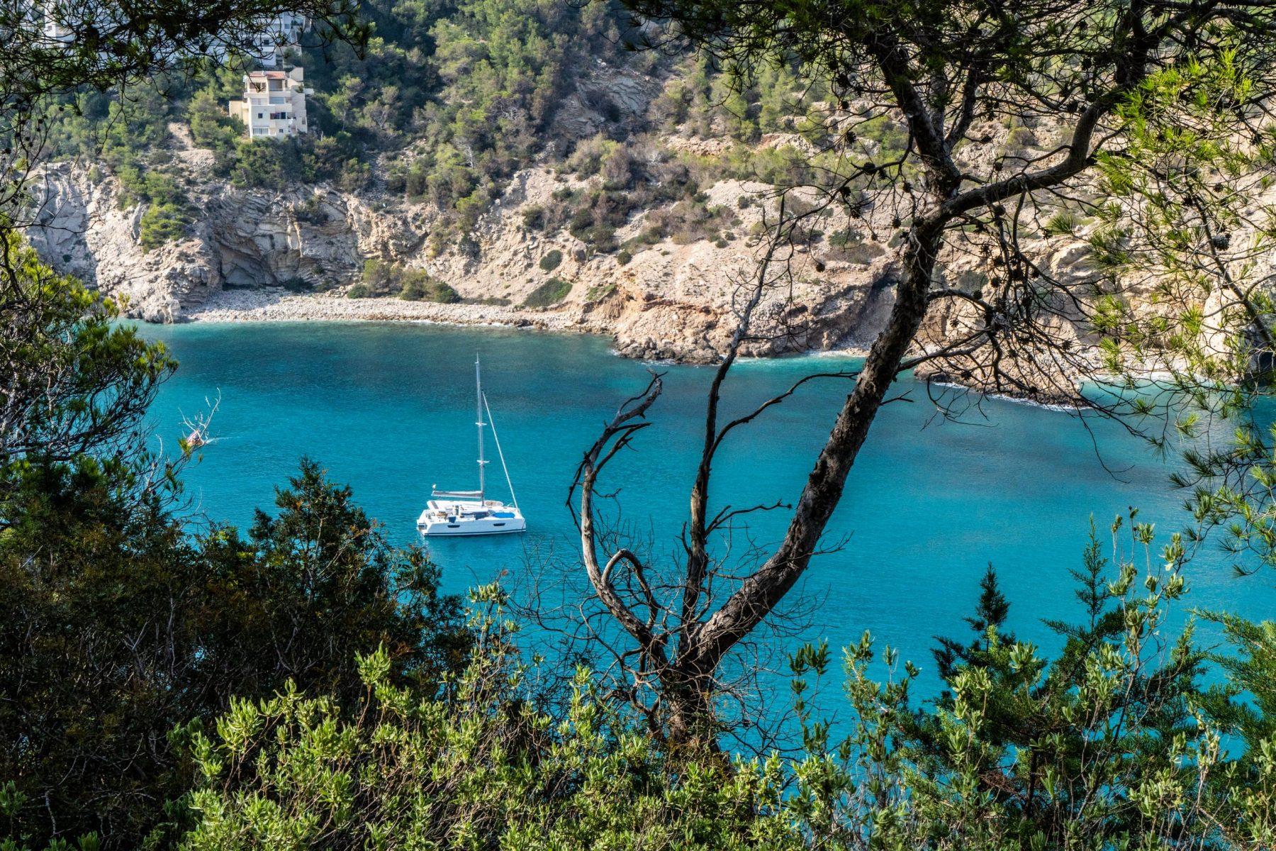 Secret Beaches in Ibiza Cala Llonga