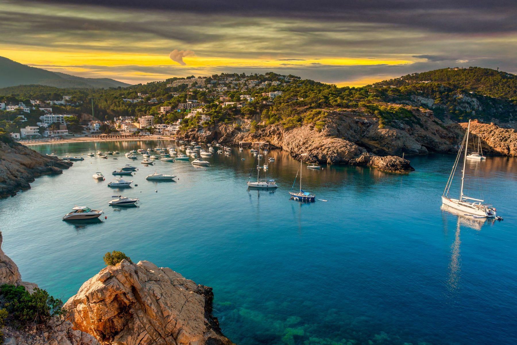 Secret Beaches in Ibiza Cala Vadella