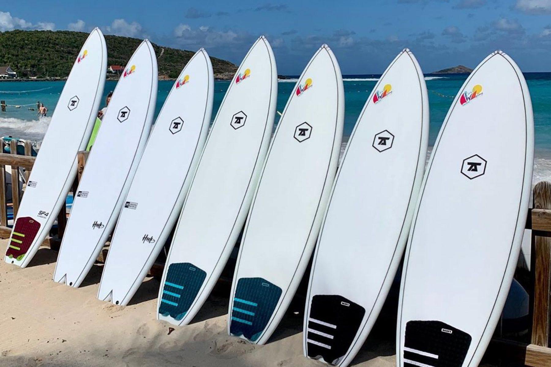 Surf Beach in St Barts