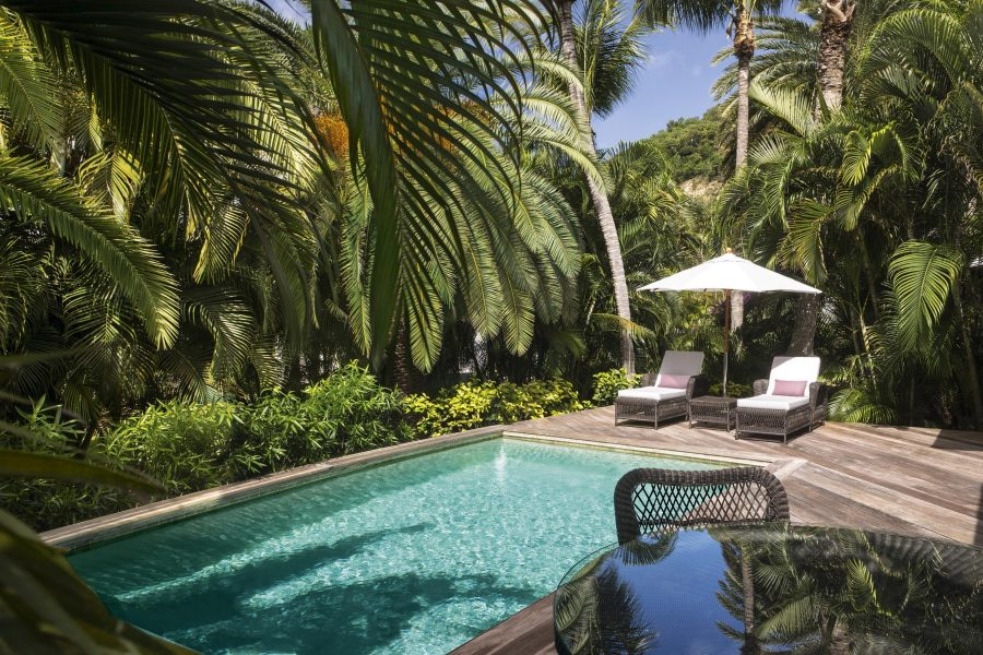 Entrance to Hotel Cheval Blanc - Isle de France St Barts