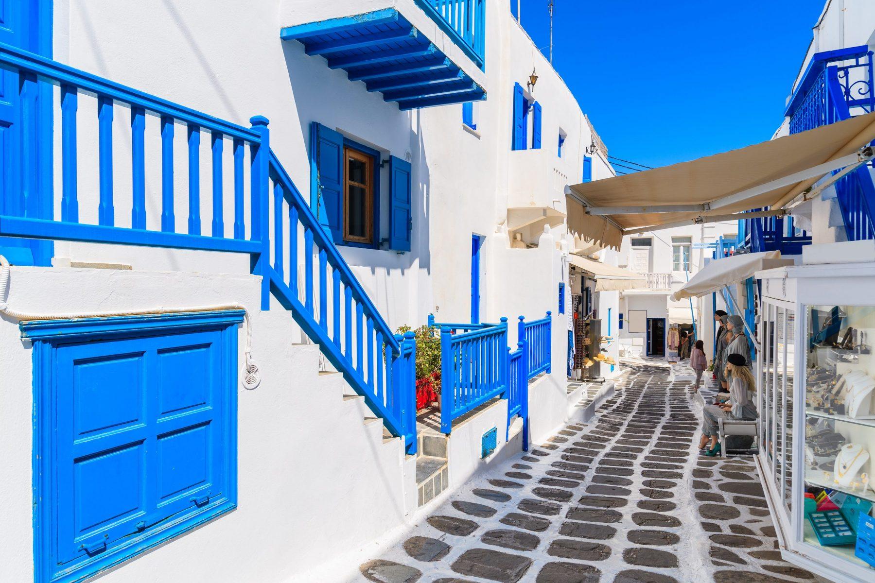 Chora in Mykonos Old Town