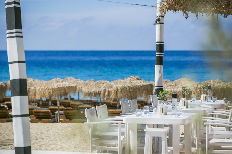 Ella Beach Restaurant Mykonos