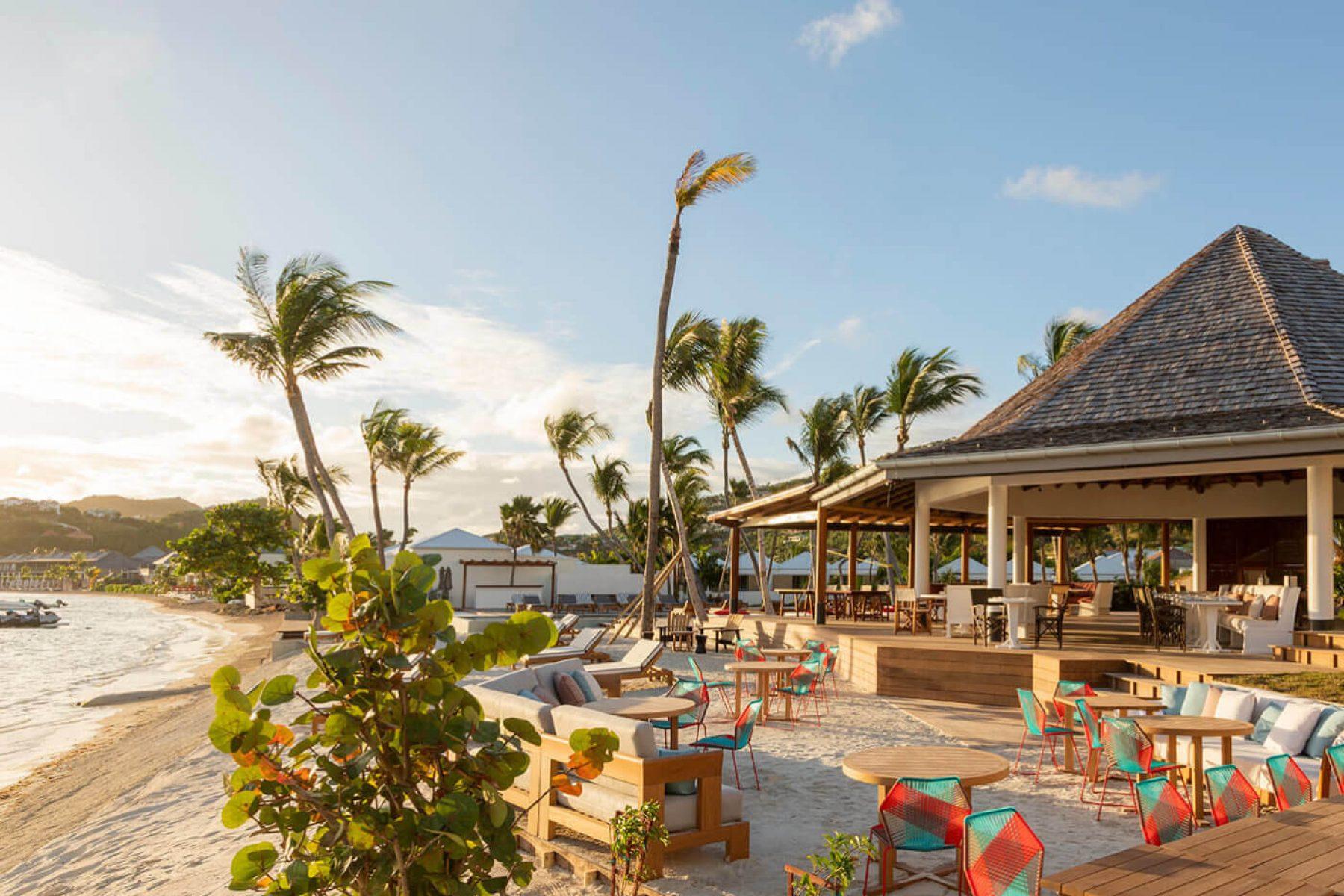 Le Sereno Surf Beach Restaurant in St Barts