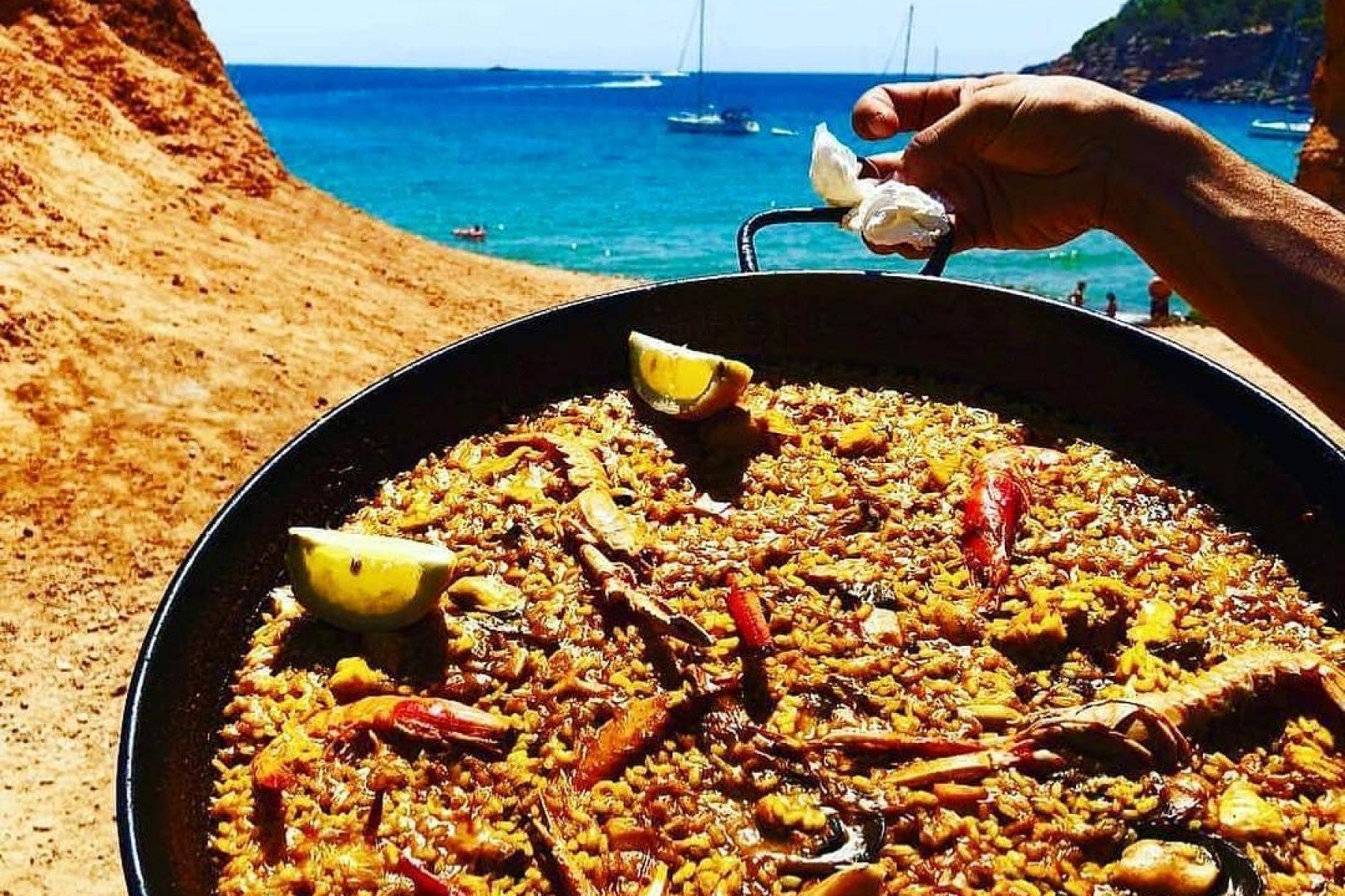 Paella in Ibiza