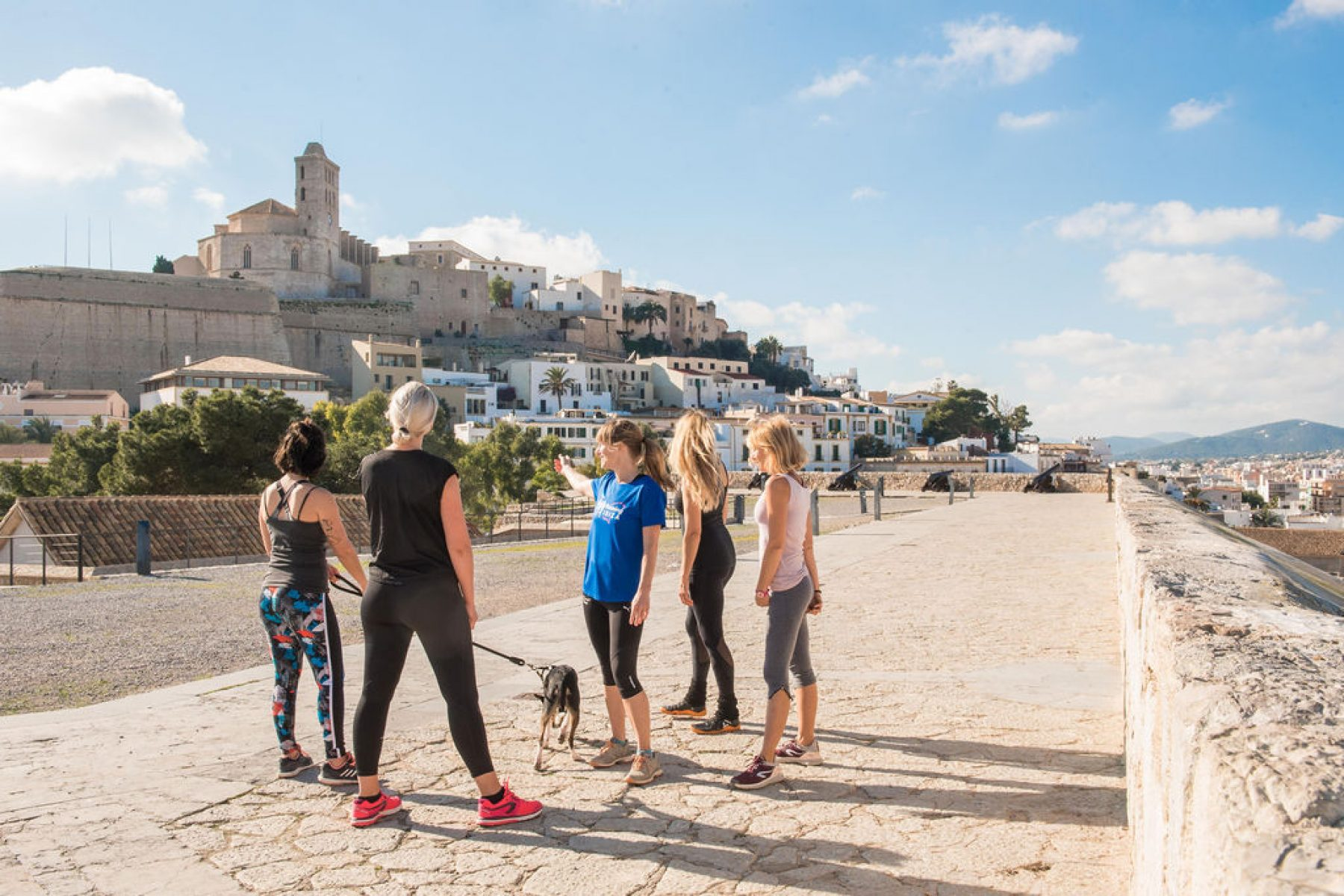 Running routes Ibiza