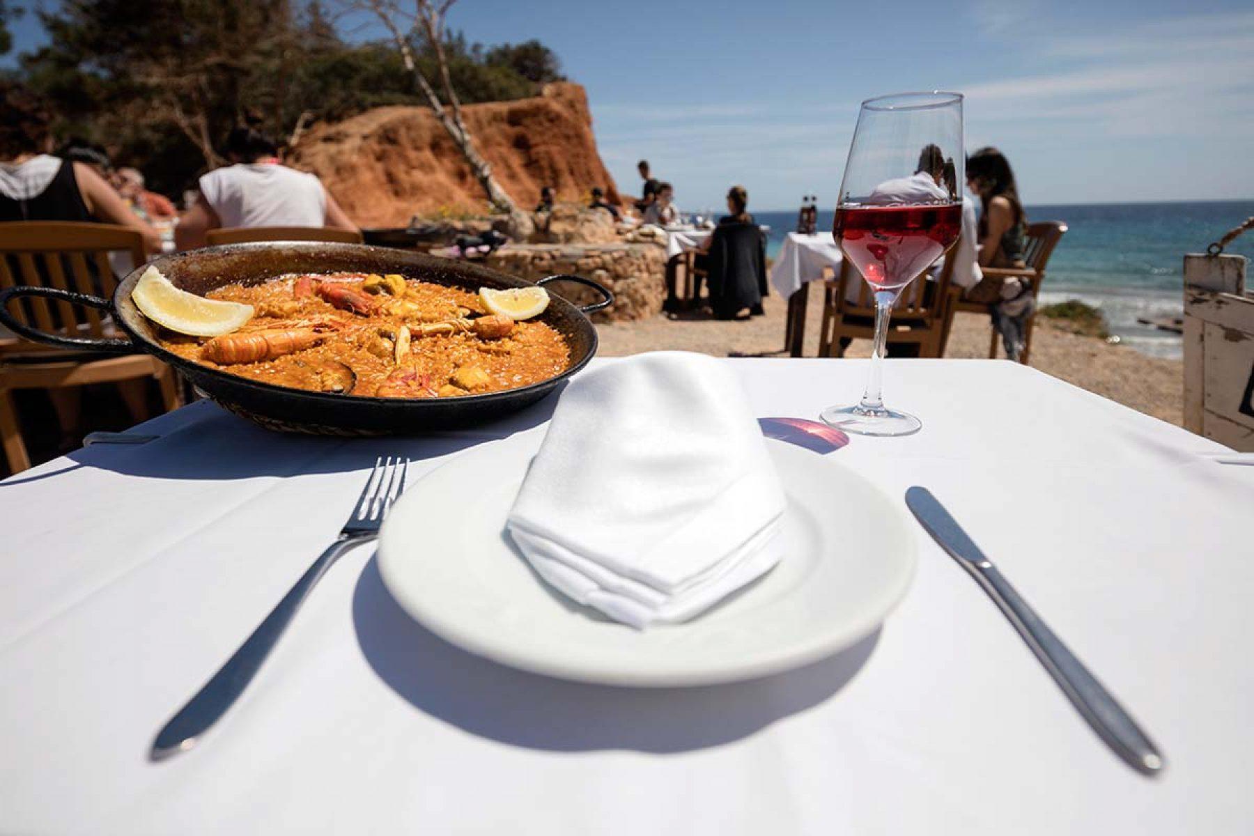 Best Paella in Ibiza Sa Caleta