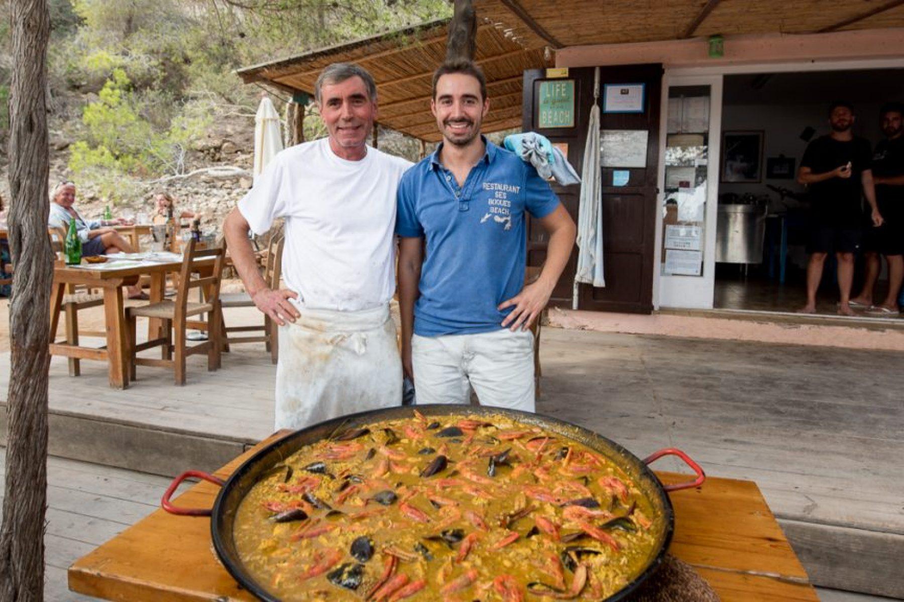 Best Paella in Ibiza Ses Boques